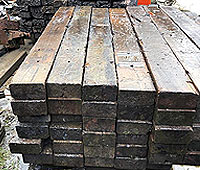 quality wooden railway sleepers