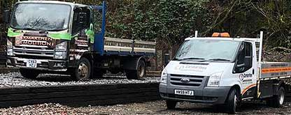 railway sleeper delivery